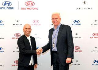 현대·기아차, 어라이벌에 1290억 투자…상용 전기차 공동개발