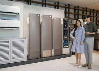 삼성 '무풍' VS LG '휘센' 한겨울 에어컨 대전…AI 대결로 확산