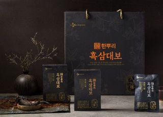 명절 인기 선물세트…CJ제일제당 '한뿌리 흑삼' 물량 확대
