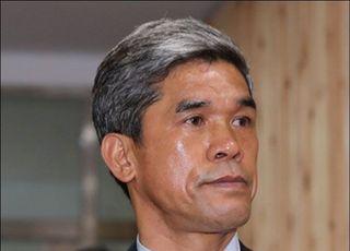 '성폭행 의혹' 정종선 전 회장, 영장심사 출석