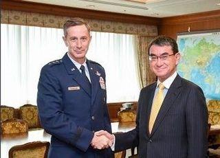 """슈나이더 주일미군사령관 """"안보상 가장 임박한 도전은 북한"""""""