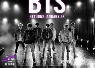 BTS 블랙스완 무대, 미국 '제임스 코든쇼'서 첫 공개