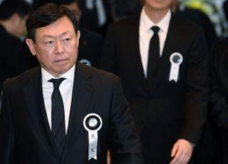 """[신격호 별세] 허영인 SPC그룹 회장 """"세계적 기업 일군 선구적인 인물"""""""