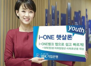 기업은행, 청년 대상 생활안전자금 대출 출시