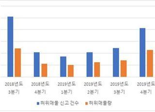 지난해 '허위매물' 신고, '용인·송파·강남'에 몰려