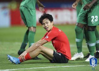 한국 U-23 우승에도 웃지 못한 정우영