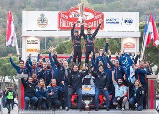 현대차 월드랠리팀, 2020 WRC 몬테카를로 랠리 우승