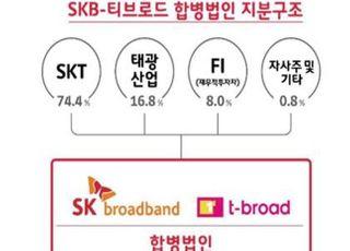 SKB-티브로드 합병법인, 4월 30일 출범