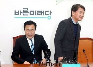 """""""안철수 중심"""" """"손학규와 이선후퇴""""…출렁이는 바른미래당"""