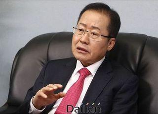 """""""PK서 상승세"""" 홍준표, 고향에서 무소속 출마 불사 시사"""