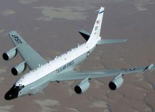 미국 공군·해군 정찰기 한반도 상공 비행