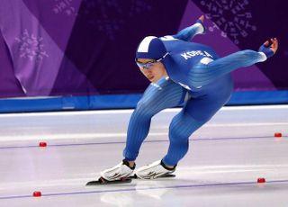 스피드스케이팅 김준호, 500m 개인신기록 달성
