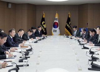 6대 그룹 총수, 文대통령에 '고용 창출' 약속