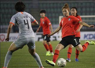 도쿄행 염원 여자 축구, 마지막 관문 '한중전'