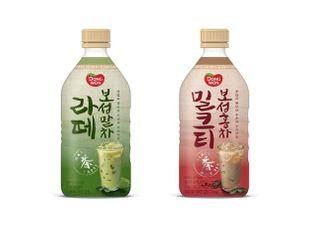 동원F&B, 말차와 홍차에 프리미엄 원유 담은 '보성라떼' 2종 출시