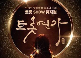 트롯 뮤지컬 '트롯연가', 코로나19로 초연 무대 연기…12일→31일
