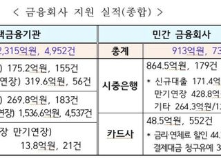 """'코로나19' 피해기업 등에 3200억원 지원…금융당국 """"실무자 면책"""""""