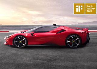 페라리 SF90 스트라달레, '2020 iF 디자인 어워드' 금상