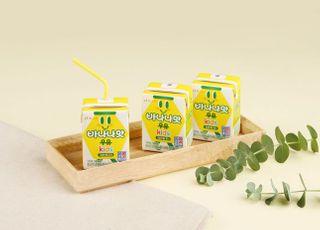 빙그레 '바나나맛우유 키즈', 입소문 퍼지며 오프라인으로 판매 확대