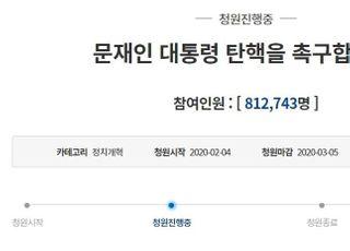 """하루 만에 60만 ↑…""""문재인 탄핵"""" 목소리 급 폭발한 이유"""