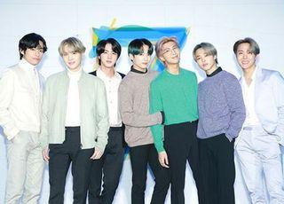 방탄소년단, 한국가수 최초 영국 '오피셜 차트' 2번째 1위