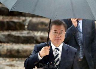 """'임기 후반' 文대통령 앞 가시밭길...WP """"이미 레임덕 시작"""""""