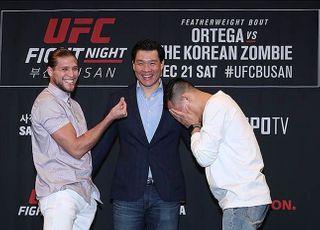 [UFC] '뺨 가격' 오르테가vs정찬성 군불 때기?
