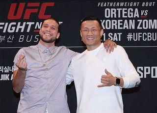 """[UFC] 오르테가, 박재범 때린 이유? """"나와 정찬성을.."""""""