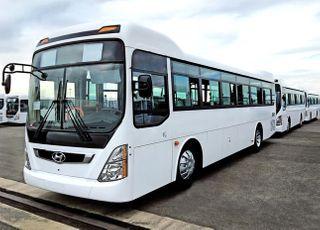 현대차, 투르크메니스탄에 시내버스 400대 공급 계약…누적 1200대