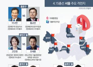 [카드뉴스] 4.15 총선 불꽃 튀는 서울 주요 격전지
