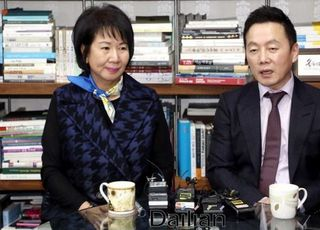 """[총선 2020] 손혜원, 주진형 음주운전·아들 국적포기에 """"문제없다"""""""