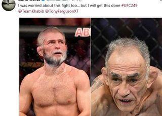 [UFC] '더 늙기 전에' 화이트 대표, 하빕-퍼거슨전 성사 맹약