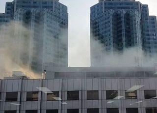서울 여의도백화점서 화재 발생해 60여명 대피소동…진화 완료