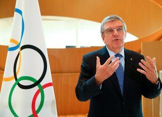 """IOC 바흐 위원장 """"도쿄올림픽 여름 이전 개최될 수도"""""""