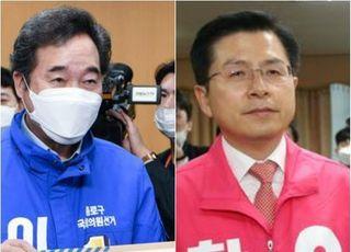 [총선2020] 이낙연 '부자 몸조심' 황교안 '한방 엎어치기'
