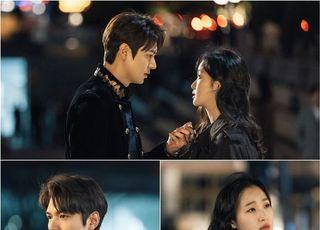 '더킹-영원의 군주' 이민호-김고은, 첫 만남 포옹 '심쿵'