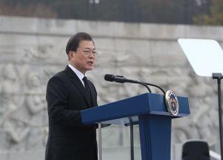 총선 앞두고…文대통령, '서해수호의 날' 기념식 첫 참석에 해석 '분분'