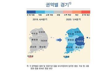 [코로나19] 지역 경기 일제히 악화…대구·경북 '직격탄'