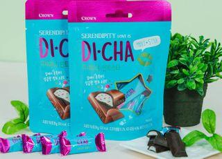 크라운제과, 한 입에 쏙…미니 초콜릿 '디샤미니 민트스타' 출시