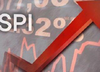 코스피 2%대 상승…외국인·기관 '팔자'