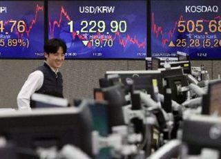 코스피, 상승 마감…외국인·기관 동반 '팔자'