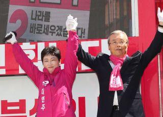 """[총선2020] 부산 온 김종인 """"文정부, 경제 아닌 조국 살리고 있어"""""""