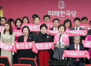 """[총선2020] 미래한국당, 민주당·시민당 '쌍둥이 버스' 위법 논란에 """"제대로나 따라하라"""" 맹폭"""