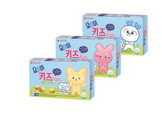 롯데제과, 어린이용 유산균 비스킷 '요하이 키즈' 출시
