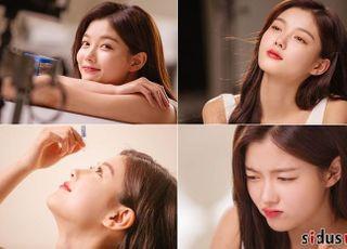 [D:FOCUS] 김유정, 봄 향기 물씬 풍기는 청순 미소