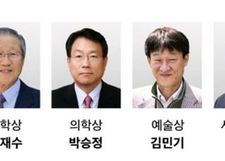호암재단, 호암상 수상자 발표...과학상 김수봉-공학상 임재수
