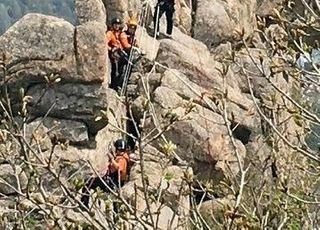 """부산 금정산서 화재…""""현재까지 인명피해 없어"""""""