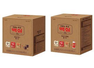 동서식품,한정판'맥심 커피믹스 레트로 에디션'출시