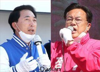 """[총선2020] 정진석 """"공주보 철거 안돼""""…박수현 """"정부 입장 결정된 바 없다"""""""