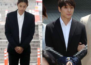 '집단성폭행' 정준영·최종훈 항소심서 각각 징역 7년·5년 구형